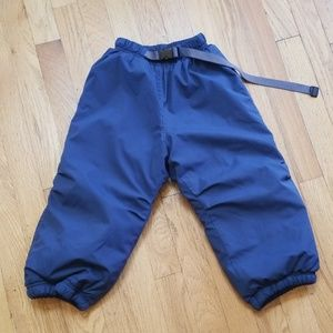REI Fleece lined Snow Pants with Growth Tuck